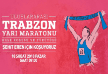 Trabzon'da Şehit Eren Bülbül Koşusu